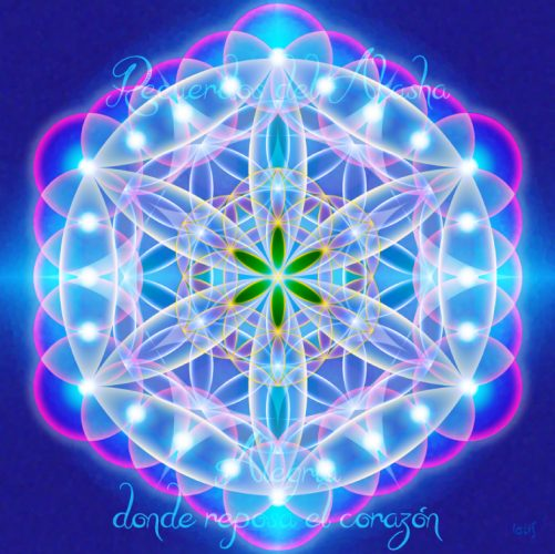 Mandalas con Recuerdos del Akasha Alegría