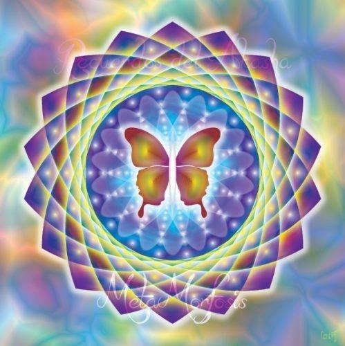 Mandalas con Recuerdos del Akasha Metamorfosis