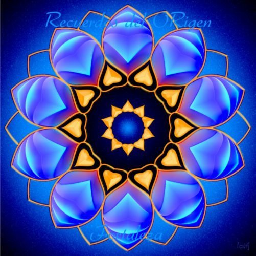 Mandalas con Recuerdos del Origen Fortaleza