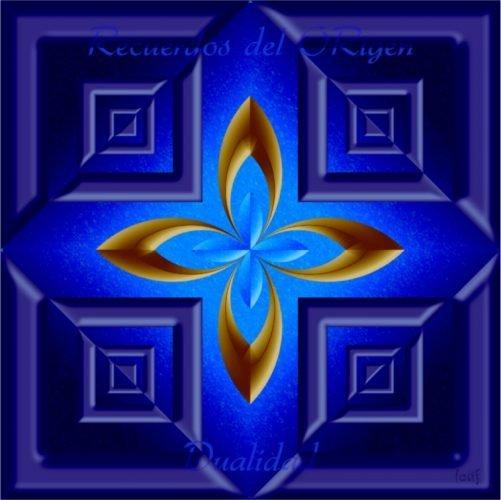 Mandalas con Recuerdos del Origen Dualidad